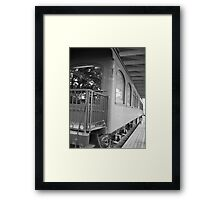 Travel through time Framed Print
