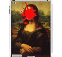 Mona Lisa Splatt iPad Case/Skin