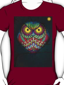 """Angry Owl by Night"" T-Shirt"