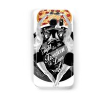 Fight For The Freedom To Love {/w Pizza} Samsung Galaxy Case/Skin