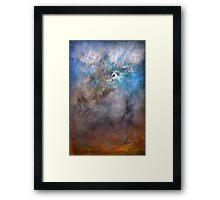 Winter Wolf... Series of Seasons Framed Print