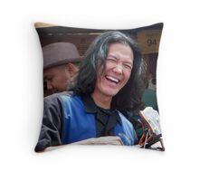 Stealth Portrait 2 Throw Pillow