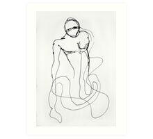 He Was A Labyrinth Art Print