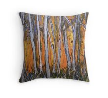 Bushfire - today, yesterday and tomorrow Throw Pillow