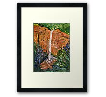 Bridal Veil Falls - Blackheath Framed Print