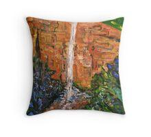 Bridal Veil Falls - Blackheath Throw Pillow