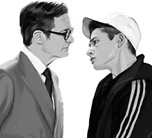 Manners, Eggsy. by Zyca