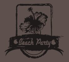 hibiscus beach party Kids Clothes