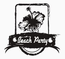 hibiscus beach party One Piece - Long Sleeve