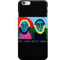 The Odd Couple iPhone Case/Skin