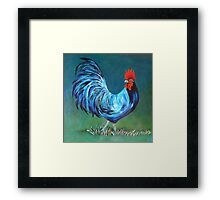 The Magic Rooster Framed Print