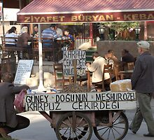 Streetscene in Fatih, Istanbul by Marc Duncan