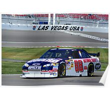 Dale Jr. at LVMS Poster