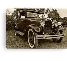 1931 Model A Ford Canvas Print