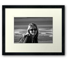 Smile! Framed Print