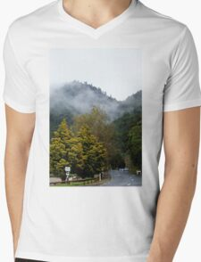 Scenery at The Green Lake North Is New Zealand Mens V-Neck T-Shirt