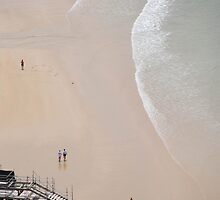 Beach, San Sebastian by Kate Powick