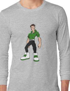 Big Shoes (green) Long Sleeve T-Shirt