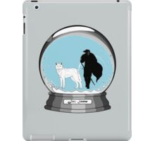 Jon Snow Globe iPad Case/Skin