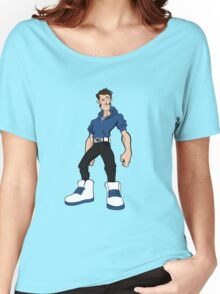 Big Shoes (Blue2) Women's Relaxed Fit T-Shirt