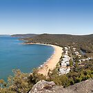 Pearl Beach Panorama by Blue Gum Pictures