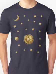 Sun, Moon and Stars Unisex T-Shirt