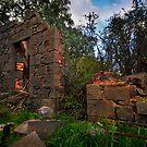 Old Rockbank Inn Ruins by John  Kowalski