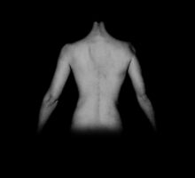 Female Nude in Black and White by Yvonne Carsley