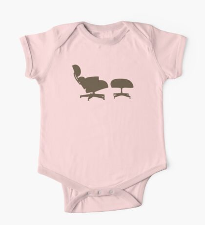 Eames Lounge Chair and Ottoman One Piece - Short Sleeve