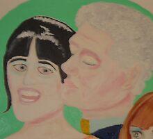 Mr President-Bill Clinton & Miss Monika in Love by Sunil