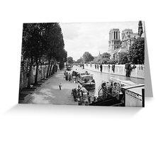 Morning in Paris Greeting Card