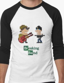 Cubism Breaking Band Men's Baseball ¾ T-Shirt