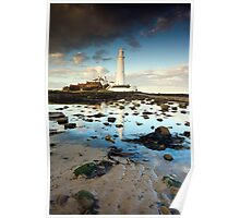 St. Mary's Lighthouse (Whitley Bay) Poster