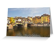 The colours of Tuscany Greeting Card