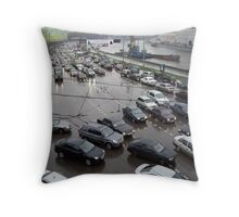 Kar Kaos Throw Pillow