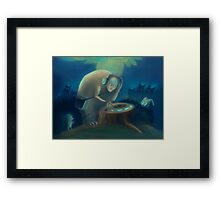 DJ Monster Framed Print