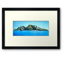 Capri - the Island Framed Print