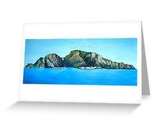Capri - the Island Greeting Card