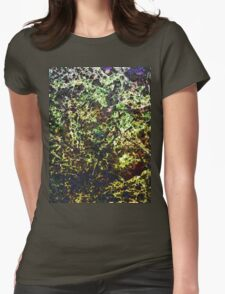 Abstract 72214a Womens Fitted T-Shirt