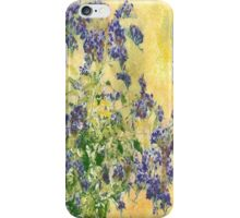 Flowers in the Garden iPhone Case/Skin
