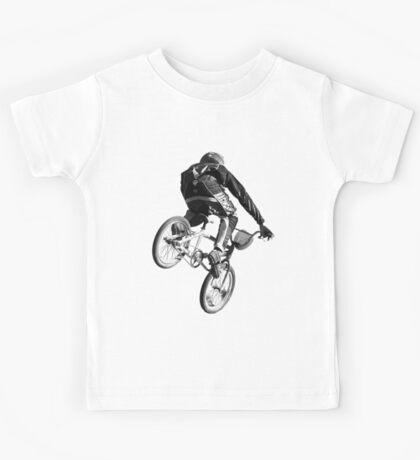 Biking Big Air  Kids Tee