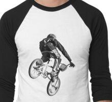 Biking Big Air  Men's Baseball ¾ T-Shirt