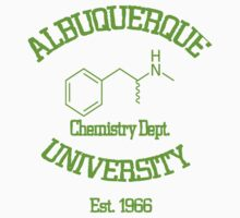 Breaking Bad - Albuquerque University Green Kids Clothes