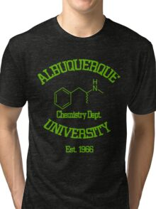 Breaking Bad - Albuquerque University Green Tri-blend T-Shirt