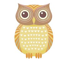 One Friendly Owl by Jean Gregory  Evans