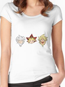 Yu-Gi-Oh! Yamis Women's Fitted Scoop T-Shirt