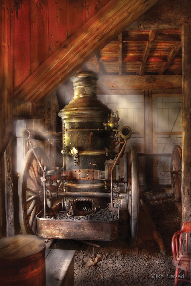 Steam Powered Water Pump by Mike  Savad