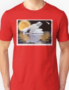 """The Celestial Child"" (Harp Seal) Unisex T-Shirt"