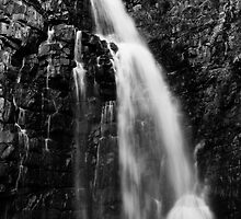 First Falls 2 (b&w) by Craig Hender