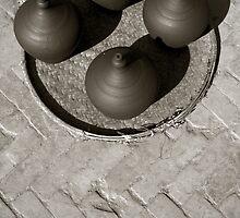 Bhaktapur Pottery Square, Nepal. by Darren Newbery